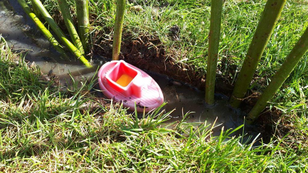 Der Gießgraben mit Bötchen